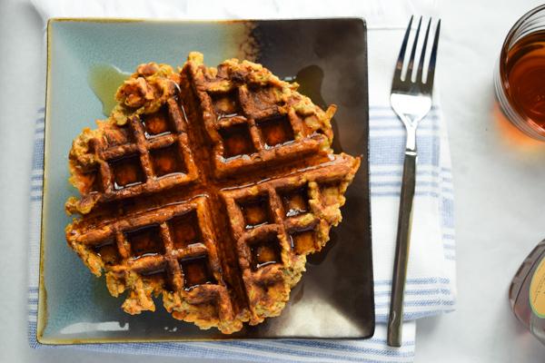 sweet potato waffles yummy