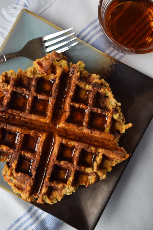 sweet potato waffles yum