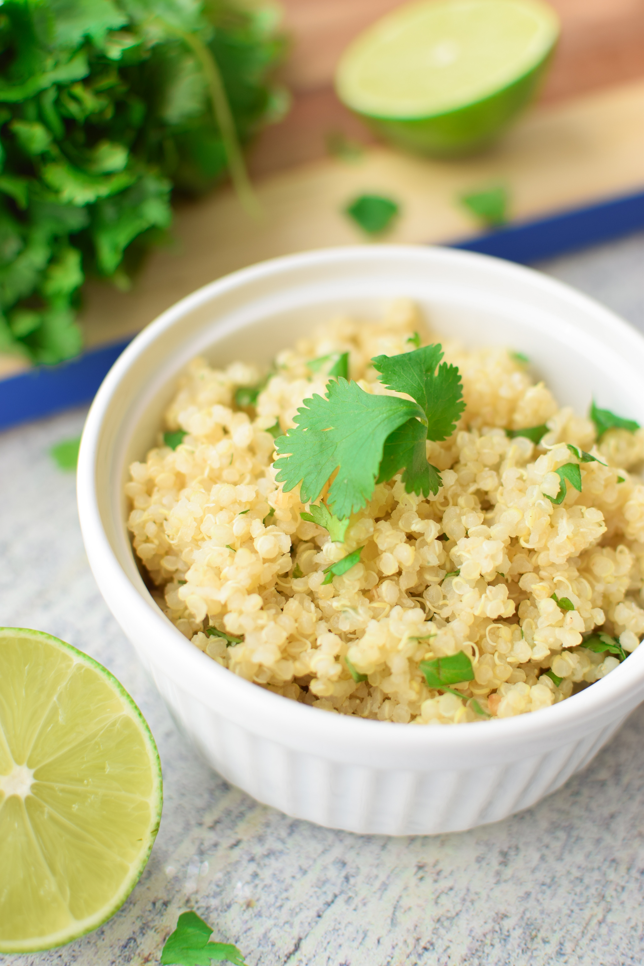 The Easiest Cilantro Lime Quinoa