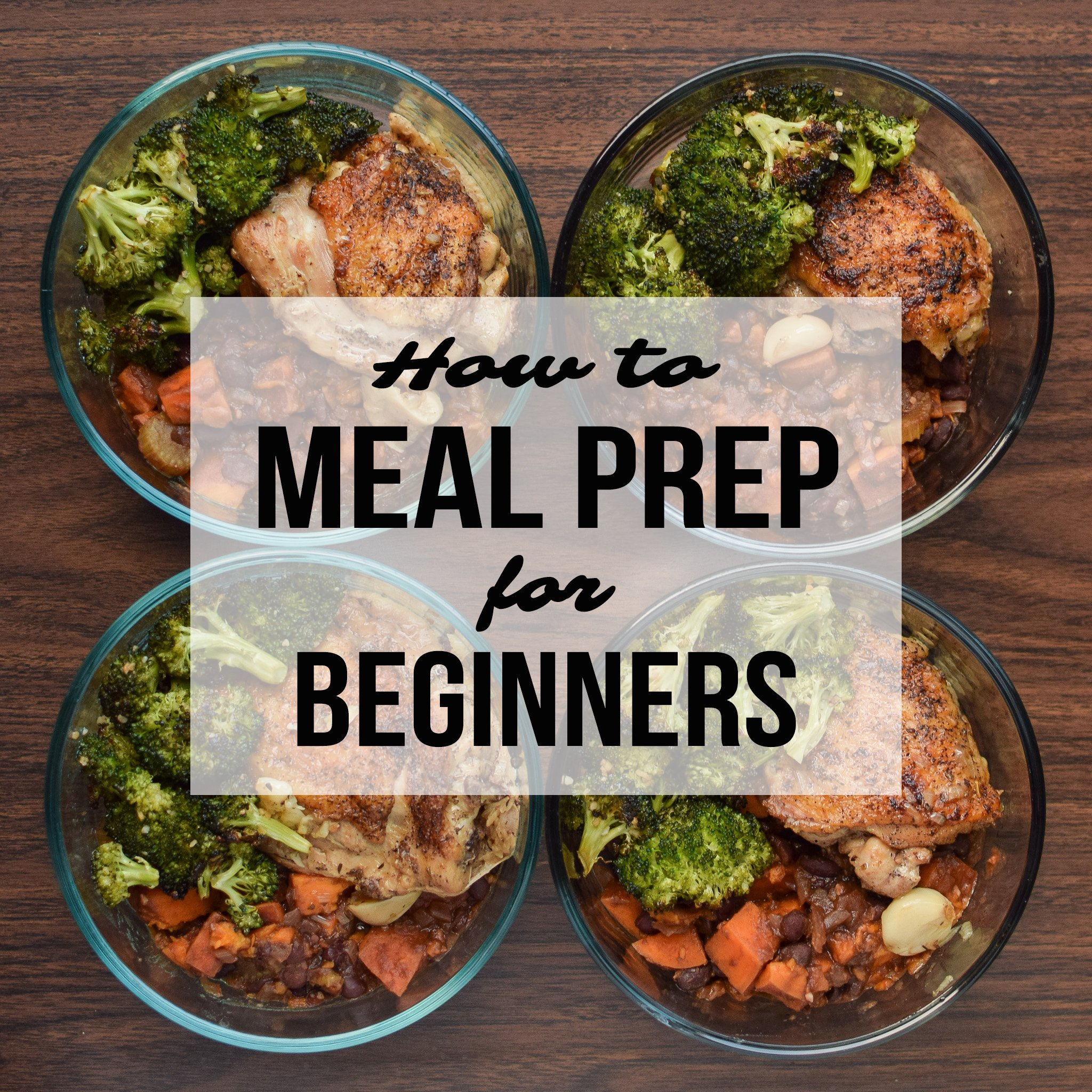 The Importance Of Meal Planning How To Meal Prep For Beginners