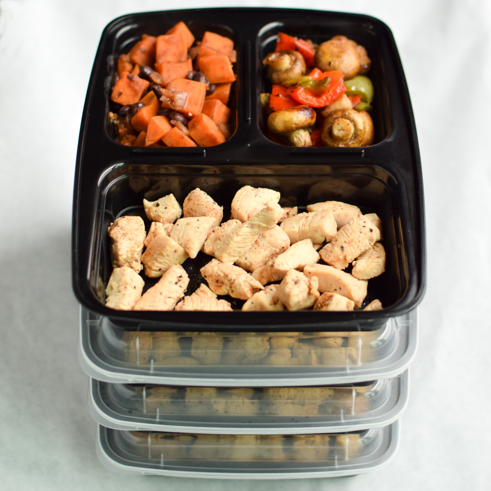Meal Prep Zone Food Storage Containers