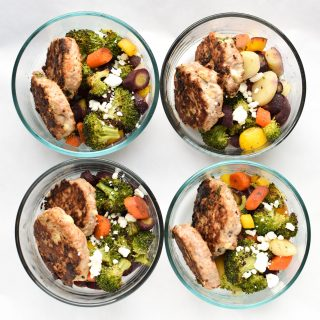 Sunday Meal Prep for January 29th, 2017 - Sunday Meal Prep Steps, shopping list, macro counts and more! - ProjectMealPlan.com
