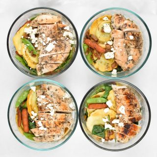 Sunday Meal Prep for March 26th, 2017 - Sunday Meal Prep Steps, shopping list, macro counts and more! - ProjectMealPlan.com