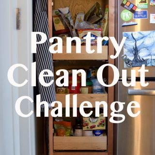 30-Day Pantry Clean Out Challenge - I'm spending the month trying to use up what we have instead of buying more food! Check out the challenge and try it for yourself! - ProjectMealPlan.com