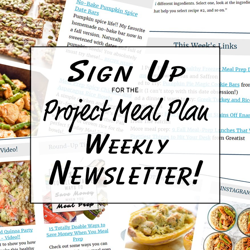 Join the project meal plan newsletter projectmealplan forumfinder Image collections