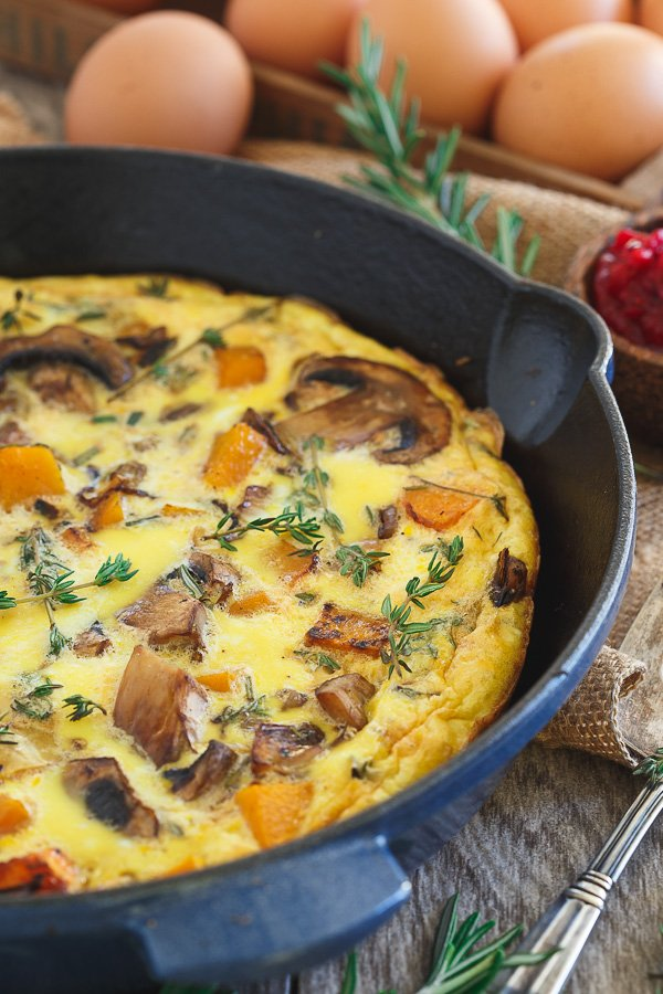 12 Ways to Turn Thanksgiving Leftovers Into Glorious Breakfast Food - Check out some great ideas to help you turn all those delicious leftovers into breakfast! Everyone in my family would love this healthy frittata!