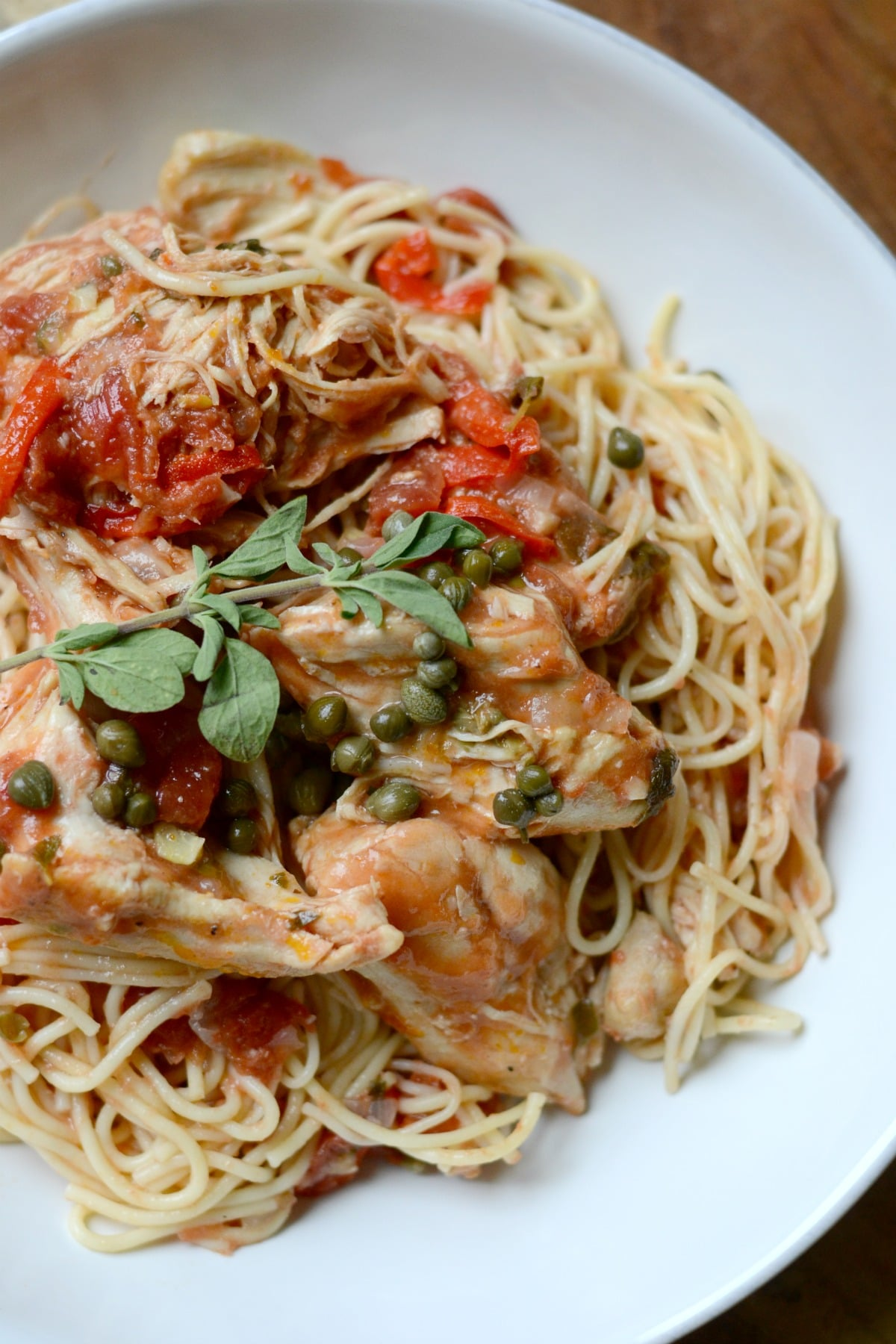 Instant Pot Chicken Cacciatore from Good in the Simple