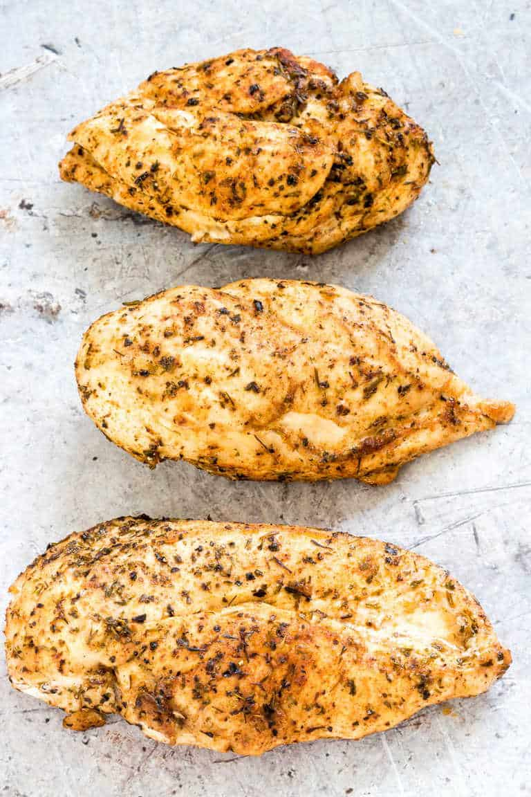 The best instant pot chicken breast recipe from Recipes from a Pantry.