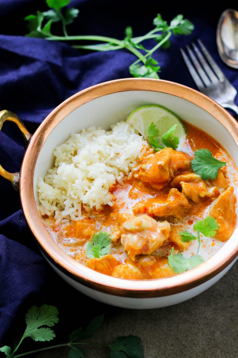 Paleo instant pot butter chicken from what grandma ate