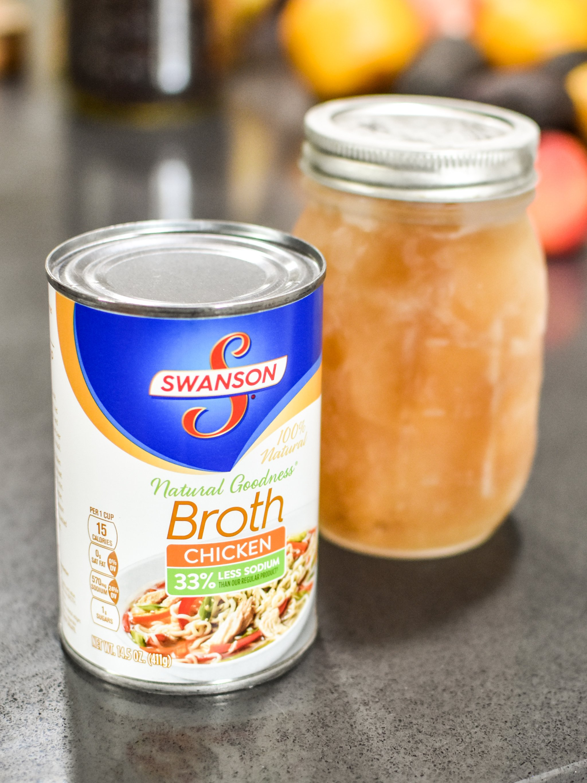 veggie and chicken broth are of the 10 staple meal prep foods always in my kitchen