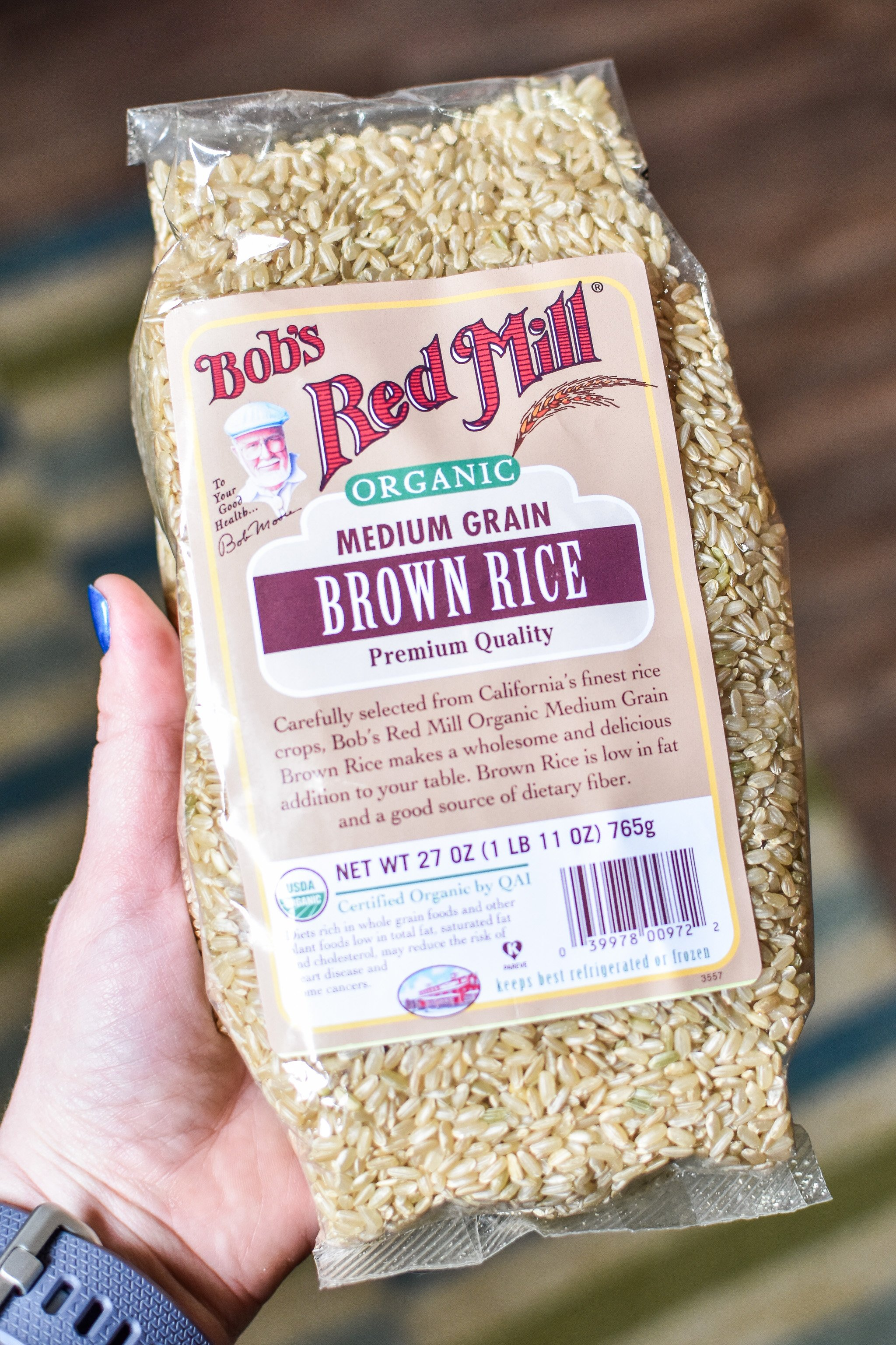 brown rice is one of the 10 staple meal prep foods always in my kitchen