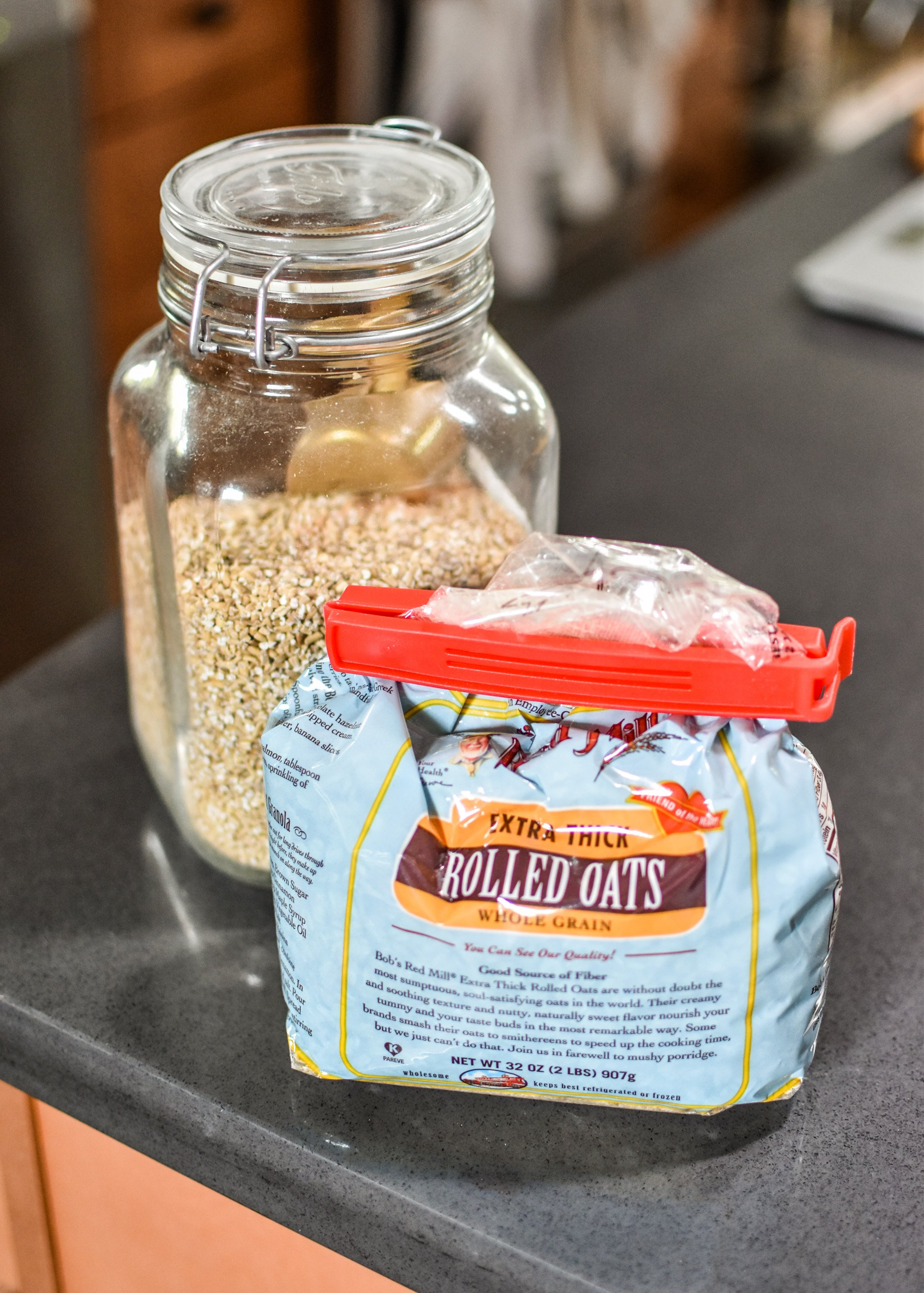 Oats are great to meal prep. 10 meal prep foods always in my kitchen