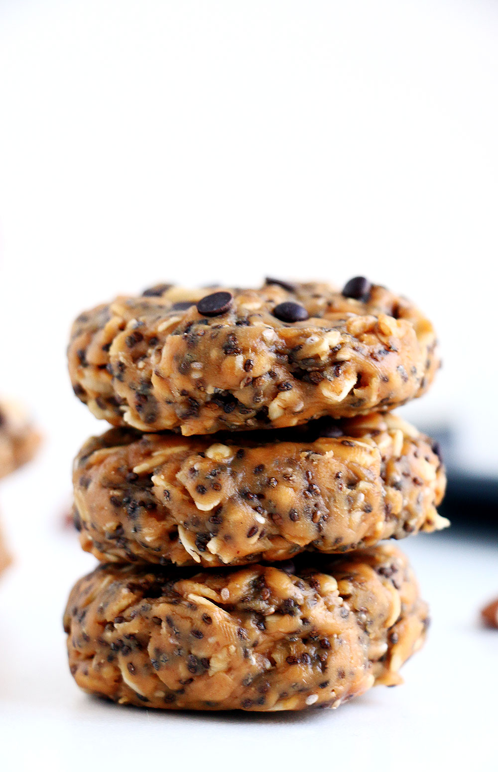 No bake breakfast cookies are great meal prep ideas for hot weather.