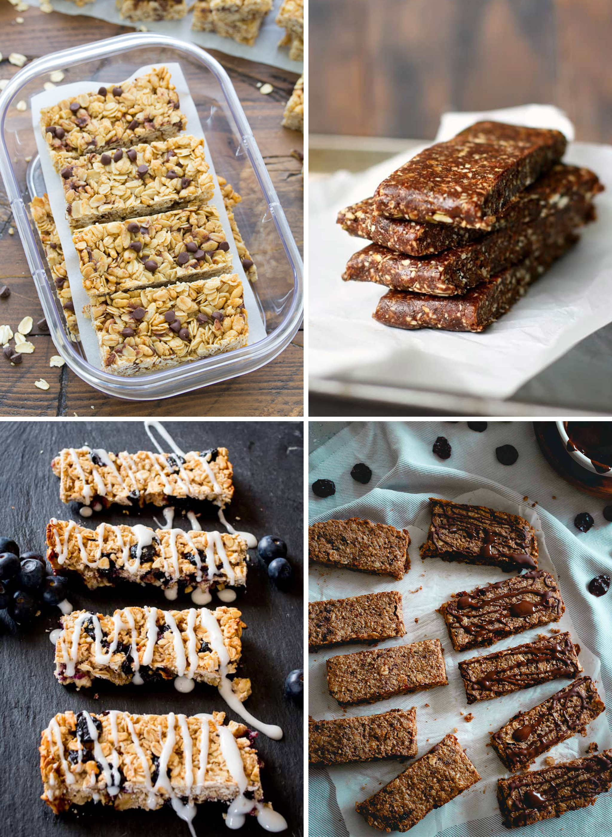 Snack bars that involve baking for the healthy snack bar recipes you can meal prep round up