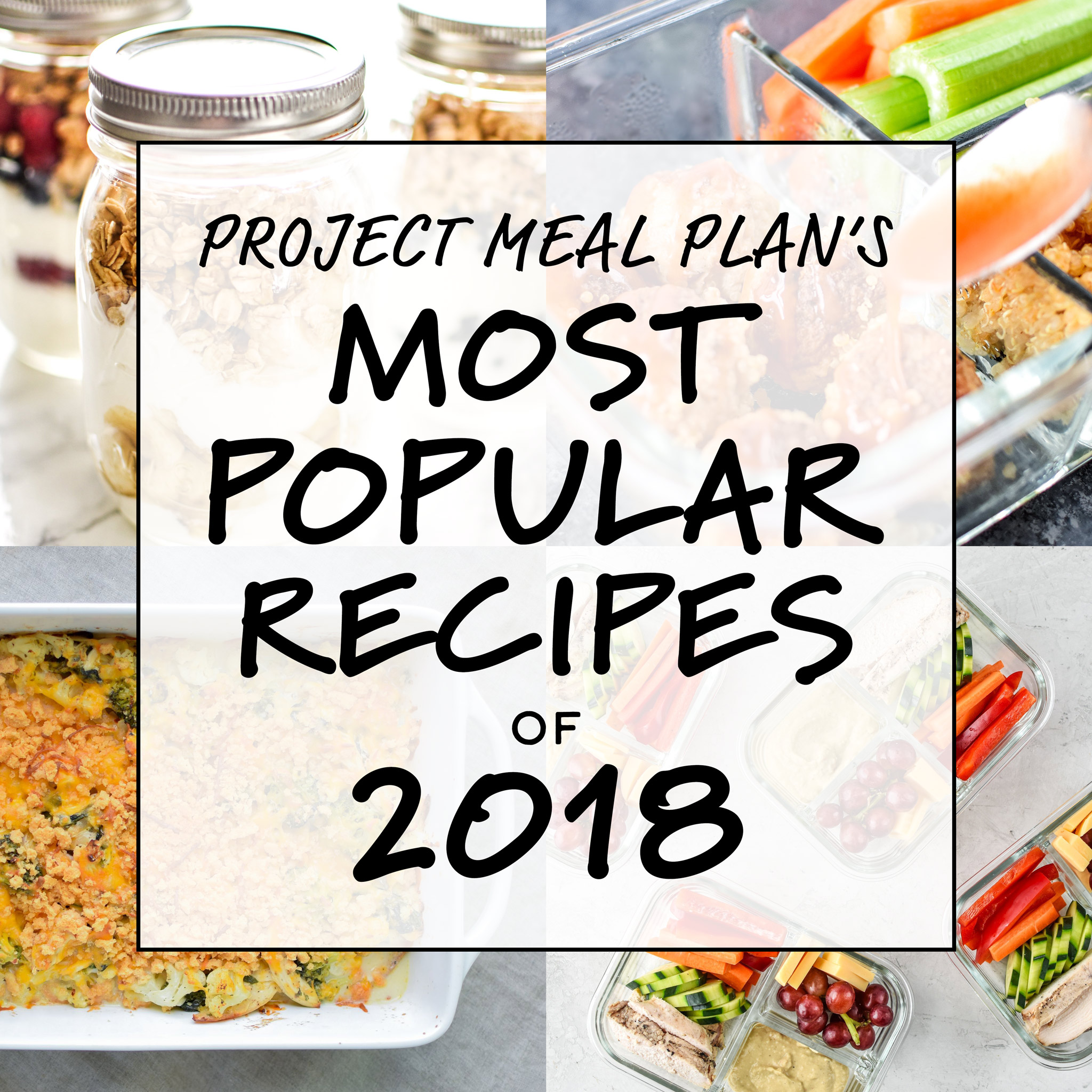 most popular recipes of 2018 cover
