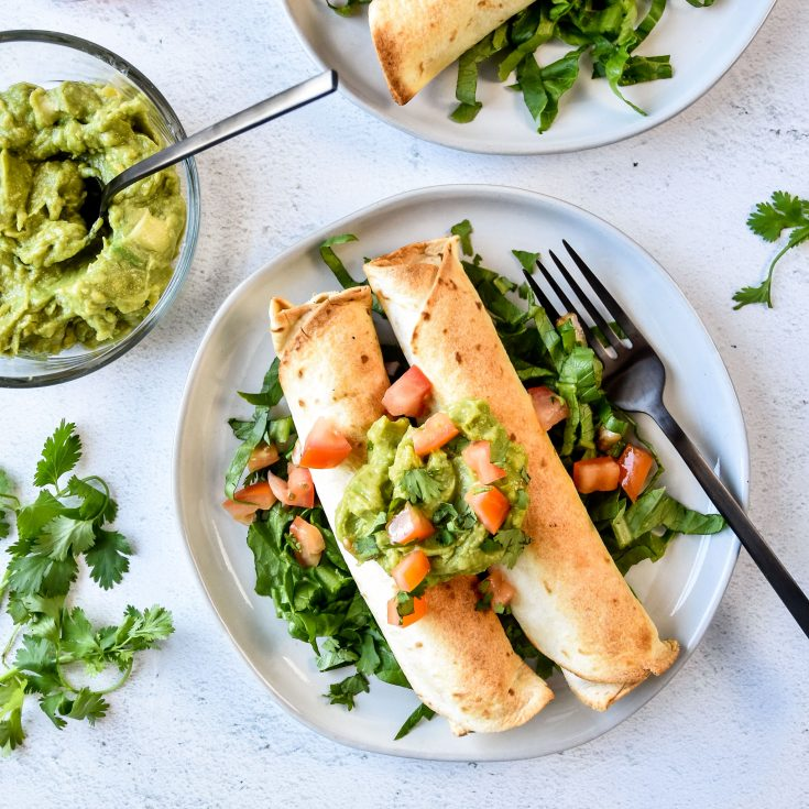 #9 Air Fryer Chicken Taquitos (or Flautas!)